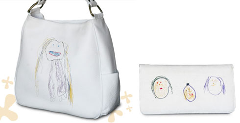 Scribble Couture bag and purse