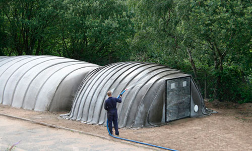 Concrete Canvas Shelter